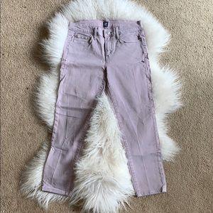 GAP Jeans - GAP Pastel Denim Mid Rise Jeans